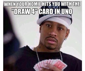 funny, uno, and friends image