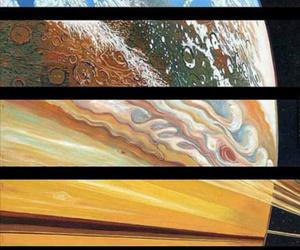 galaxia, Venus, and saturno image