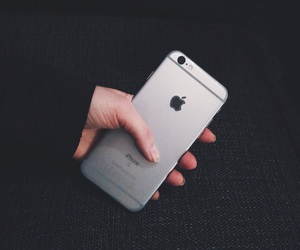 iphone, iphone 6s, and space gray image