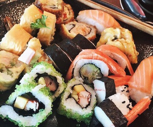 food, japanese, and craving image