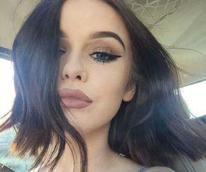 girl, beautiful, and acacia image
