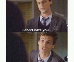 funny, criminal minds, and hate image
