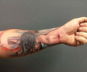 men, Tattoos, and trend image