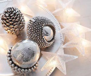 christmas, decoration, and stars image