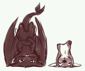 stitch, cute, and dragon image