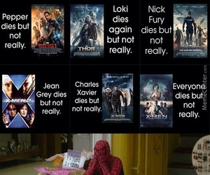 Marvel, funny, and spiderman image