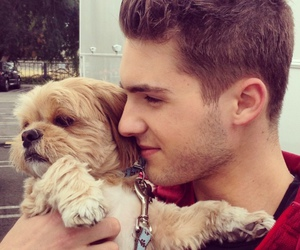 cody christian, teen wolf, and dog image