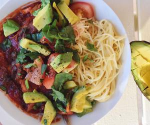 food, vegan, and fruit image