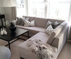 home, couch, and design image