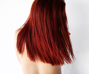 red, hair+, and fashion+ image
