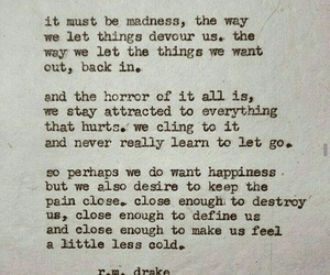quotes, pain, and madness image