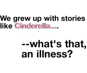 cinderella, grow, and illness image