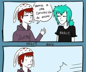 anime, kawaii, and naruto image