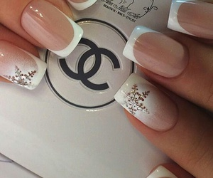 chanel, manicure, and winter image