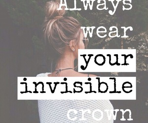 crown, girl, and always image