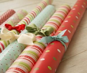 christmas, present, and bow image