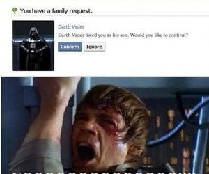 star wars and facebook image