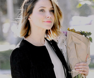 flowers, sophia bush, and street image