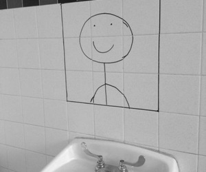 mirror, funny, and smile image