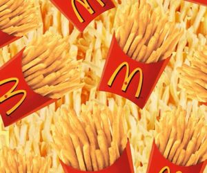 food, background, and fries image