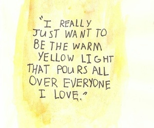 quotes, yellow, and light image