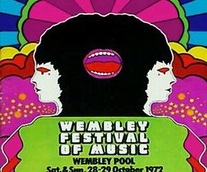 1972, design, and festival image