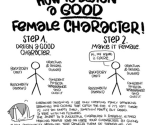character, design, and female image