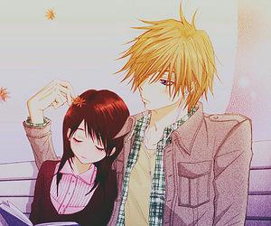 dengeki daisy, manga, and couple image