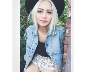 aesthetic, pastel, and white hair image