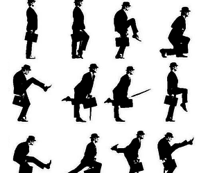 monty python and ministryof silly walks image