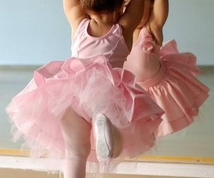 ballet, pink, and baby image