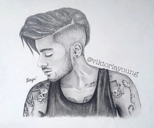 draw, zayn malik, and zayn image