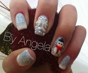 3d, nail, and snow image