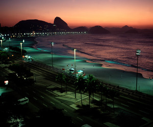 beach, brasil, and photography image