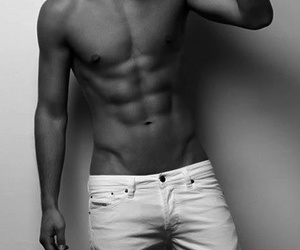 abs, body, and guys image