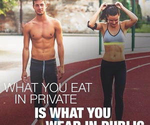 couple, fit, and goals image