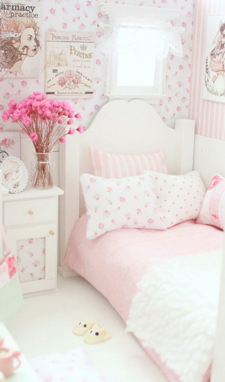 Awesome Pink Bedroom Background Hd Images