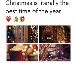 christmas, winter, and year image