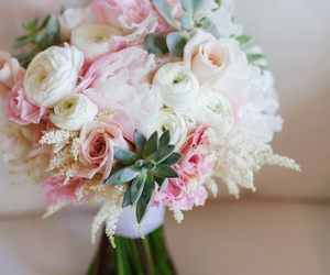 bouquet, rose, and roses image