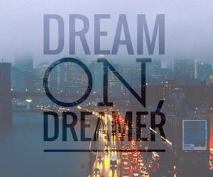 city, dreamer, and light image