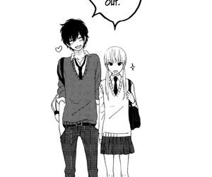 love, manga, and tonari no kaibutsu-kun image