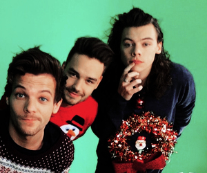 christmas and one direction image