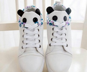 panda, cute, and fashion image