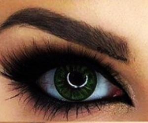 beauty, eyeliner, and eyes image
