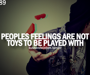 feelings, quote, and toys image