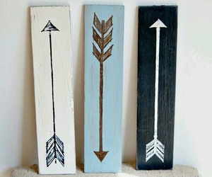 arrow, diy, and black image