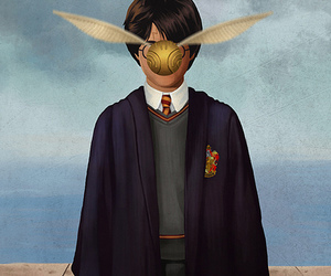 art, potter, and harry image