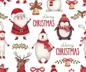christmas, santa, and Christmas time image