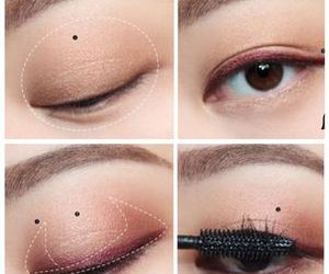 makeup, korean, and style image