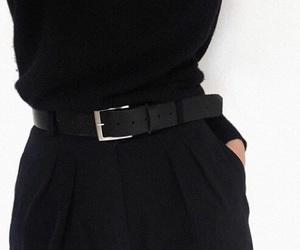belt, model, and ootd image